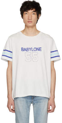 Saint Laurent Off-White Babylone T-Shirt
