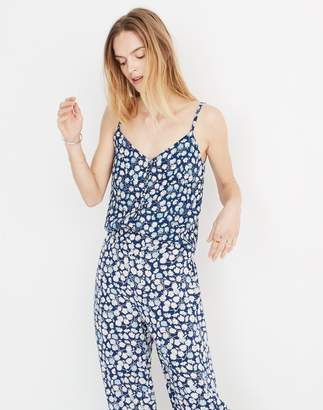 Madewell Button-Down Cami Top in French Floral
