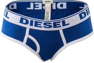 Diesel Women's Slip Oxi and Panties Woman Brief Slip Underpants: Colour: Blue | Size: X-Small