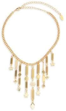 Ettika Fringe Star Frontal Necklace