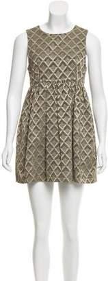 Jenni Kayne Jacquard Mini Dress