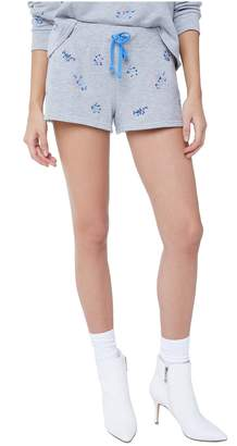 Juicy Couture Wildflower Embellished French Terry Short