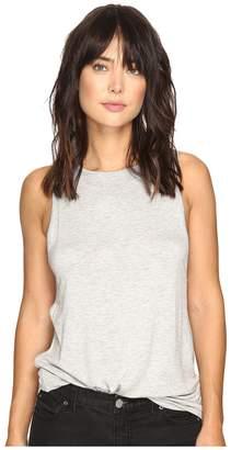 Kensie Subtle Slub Tees Top KS3K3575 Women's T Shirt