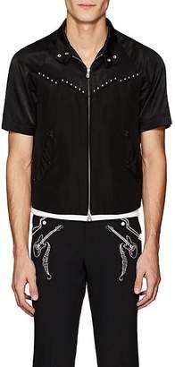 Baracuta Takahiromiyashita theSoloist Men's Embellished Cotton-Silk Jacket
