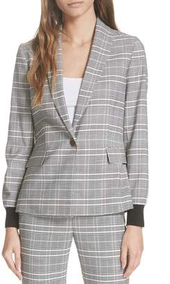 Ted Baker Ted Working Title Kimm Contract Cuff Check Blazer
