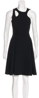 Prabal Gurung Cutout Knee-Length Dress
