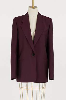 Acne Studios Short wool and mohair coat
