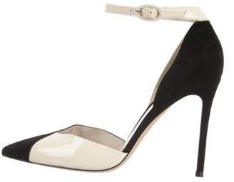 Gianvito Rossi Pointed-Toe D'Orsay Pumps