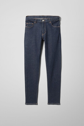 Weekday Form Rinsed Jeans - Blue
