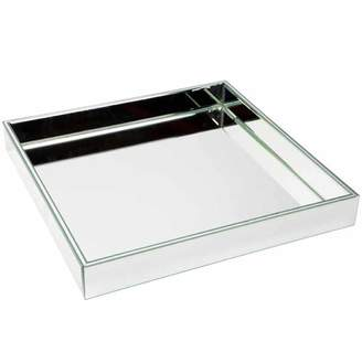 Bevelled Mirror Glass Lexington Tray