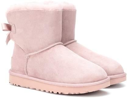 Ugg Mini Bailey Bow II suede boots