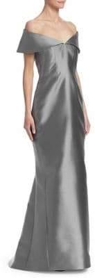 Catherine Regehr Anna Off-The-Shoulder Gown