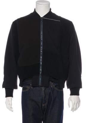 Longjourney Patchwork Zip Sweater