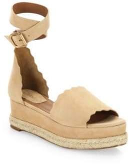 923e88f6ee6b at Saks Fifth Avenue · Chloé Lauren Ankle Wrap Espadrilles