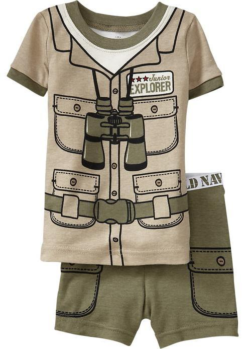 Adventure-Costume PJ Sets for Baby