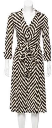 Diane von Furstenberg Silk Eli Dress