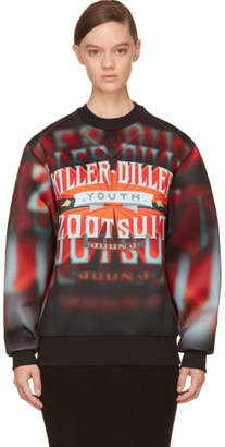 Juun.J Red Killer Diller Neoprene Pullover
