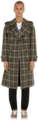 Burberry Reversible Pembridge Check Twill Coat