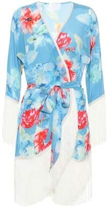 Athena Procopiou In Bloom silk kimono