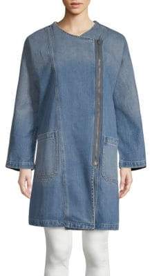 Current/Elliott Davida Denim Trench Coat