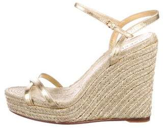 6015a13384faf2 Pre-Owned at TheRealReal · Gucci Espadrille Wedge Sandals