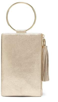 Nolita THACKER Ring Handle Leather Clutch
