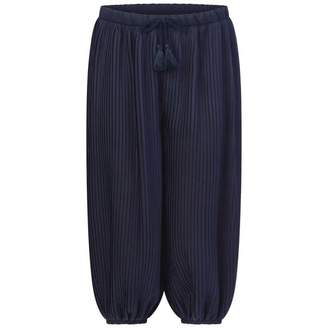 Chloé ChloeGirls Navy Sarouel Trousers