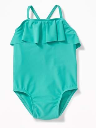 Old Navy Ruffled Swimsuit for Toddler Girls