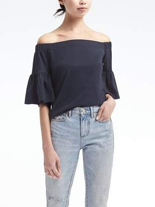 Off-the-Shoulder Bell-Sleeve Top $49.50 thestylecure.com