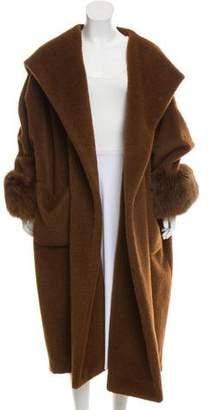 Gucci Alpaca Blend Wool Coat