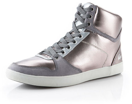 Lacoste Metallic Hi Top Sneaker
