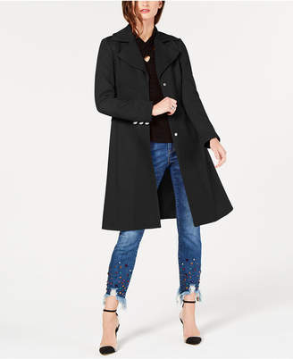 INC International Concepts I.n.c. Cotton Ponte-Knit Coat