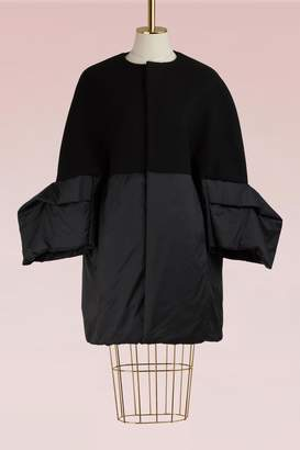 Rick Owens Woolen Down Coat