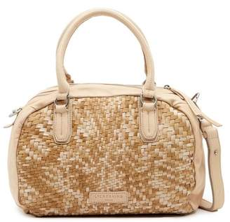Liebeskind Berlin Oitas Woven Leather Satchel