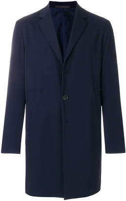 Caruso single-breasted coat