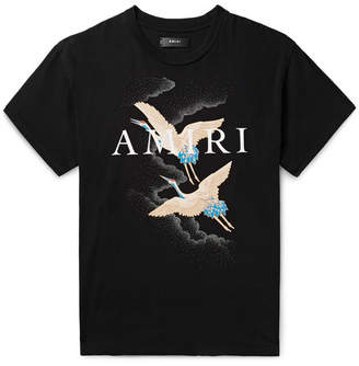Amiri Logo-Print Cotton-Jersey T-Shirt