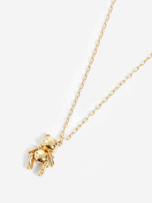 659d3139c3edeb Ambush GOLD INFLATED TEDDY BEAR NECKLACE