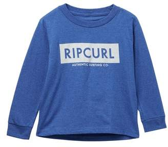 Rip Curl Zipper Heather Juvy Long Sleeve Top (Big Boys)