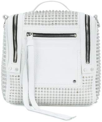 McQ Loveless 69 studded convertible box bag