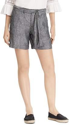 Lauren Ralph Lauren Striped Linen Shorts