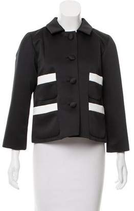 Marc Jacobs Satin Button-Up Jacket