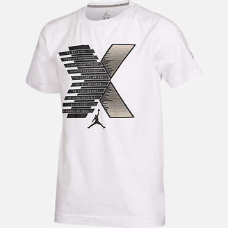 Nike Boys' Air Jordan Retro 10 Stats T-Shirt
