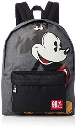 Disney (ディズニー) - [ディズニー] ミッキー90周年(パイカットミッキー)デイパック D4366 D4366 グレー