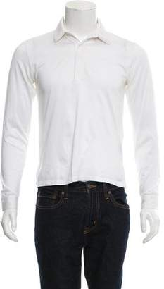 Christian Dior 2002 Layered Polo Shirt