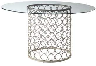Carolina Chair and Table Marcello 48 Inch Round Glass Top Table