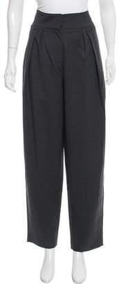 Donna Karan High-Rise Wool Pants w/ Tags