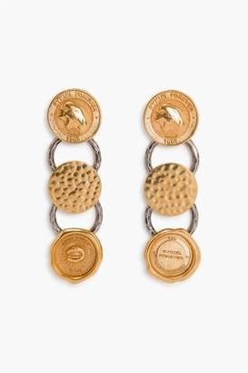 Sonia Rykiel Coin Earrings