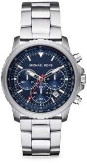 Michael Kors Theroux Chronograph Stainless Steel Watch