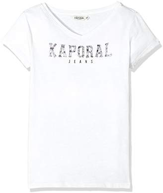 Kaporal Girl's Fabri T-Shirt,(Manufacturer Size: 14A)