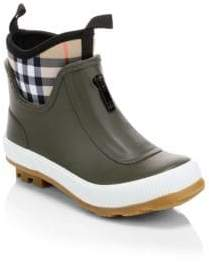 Burberry Kid's Flinton Rainboots